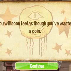 Вы скоро почувствуете, как будто потратили монету.