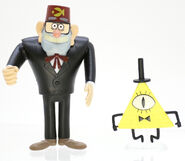 Gravity Falls Stan and Bill Cipher toys
