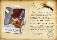 Postcard promo Dipper