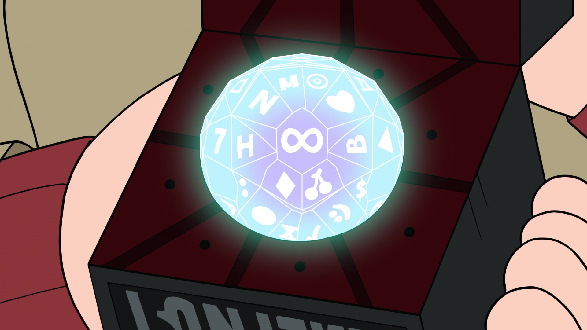 Infinity Sided Dice Gravity Falls Wiki Fandom Powered By Wikia