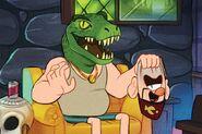 Emmy Cicierega lizard man