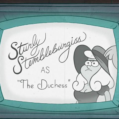 Стёрли Стемблбёрджес в роли Графини.