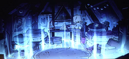 S2e1 Gravity Falls Season 2 Dipper and Mabel's room in the portal light