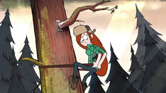 S2e2 wendy climbs to the tree