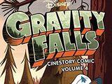 Gravity Falls Cinestory Comic Volume 4
