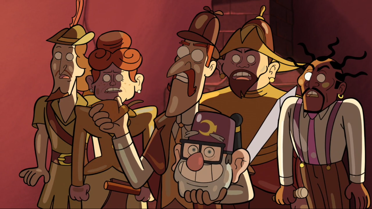 wax figures gravity falls wiki fandom powered by wikia