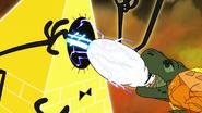S2e20 t-rex pulls eye