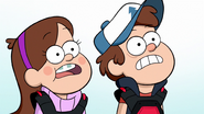 S2e8 dipper and mabel shocked
