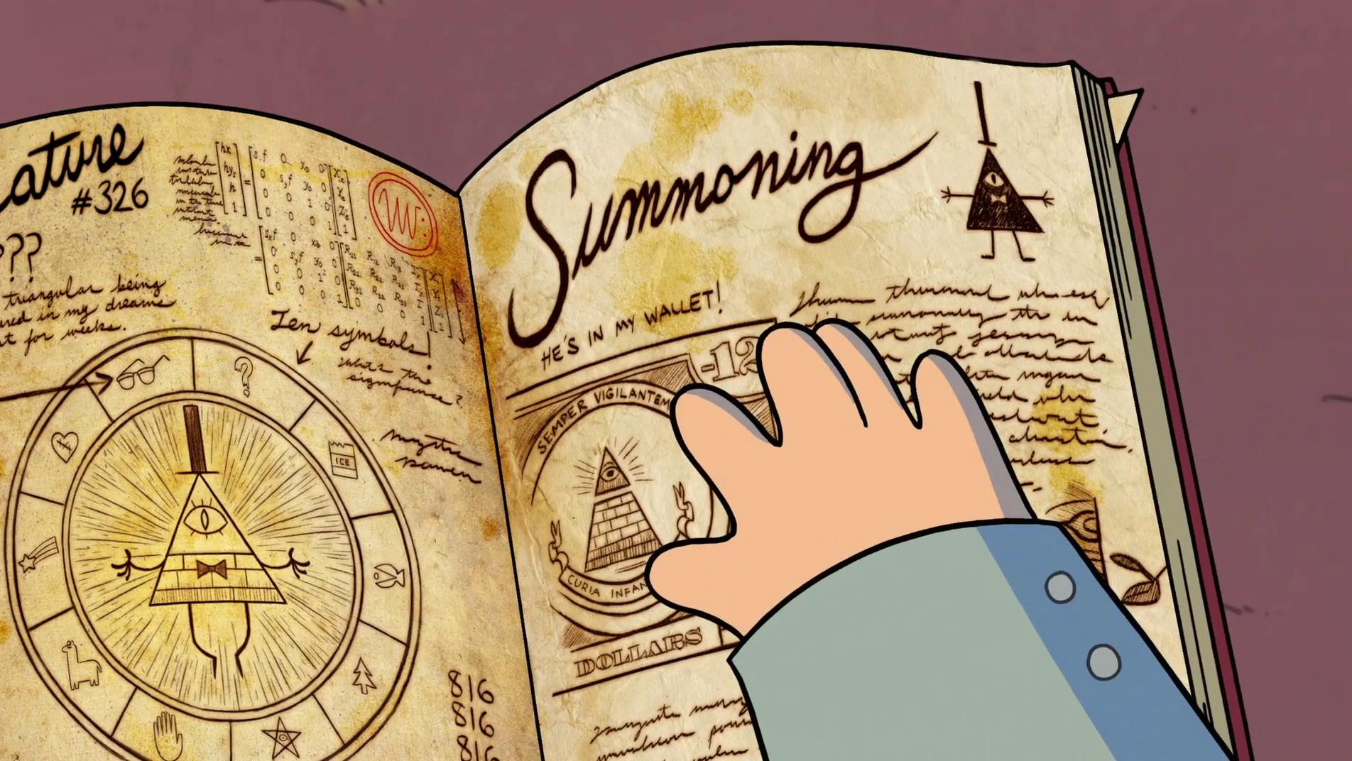 фолз второй картинки гравити дневник