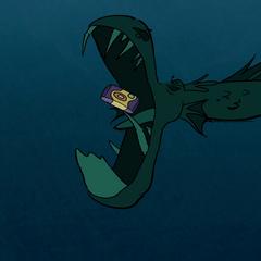 Настоящий Живогрыз ест камеру Диппера.