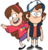 Dipper and Mabel render