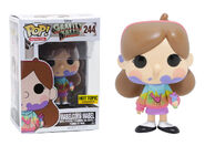 Funko Pop Mabel Unicorn blood Hot Topic Exclusive