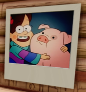 DI Mabel and Waddles