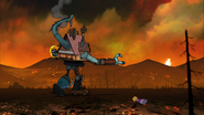 S2e20 Xanthar explosion