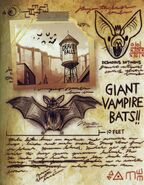Six strange tales journal 3 bats