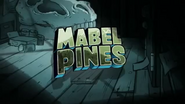 Promo Mabel's name