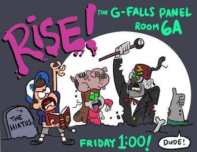 SDCC 2014 Gravity Falls Live