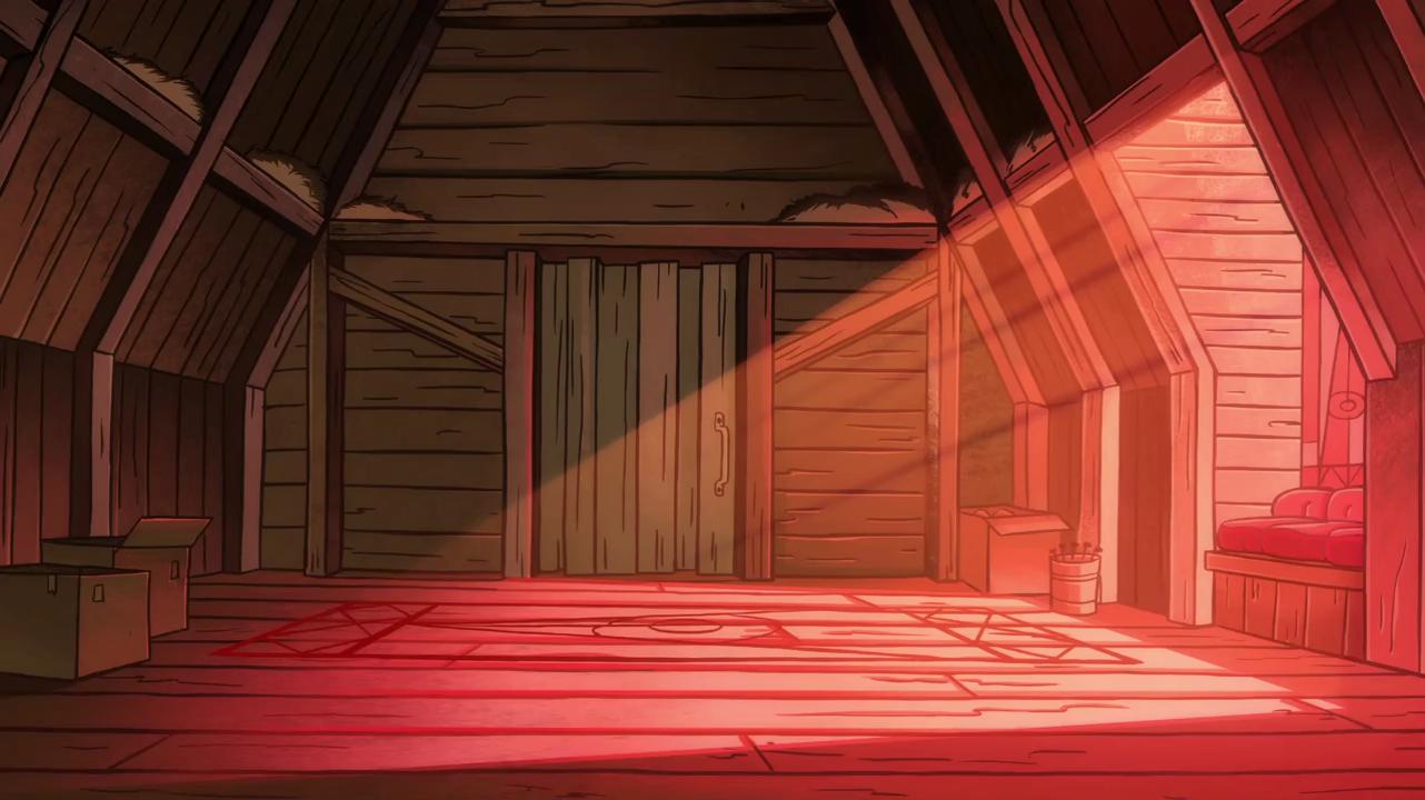 S1e17 Mabel And Dips Bedroom Door