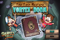 Game the twin mystery vortex of doom start menu.png