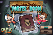 Game the twin mystery vortex of doom start menu