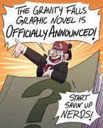 Promo de la novela grafica