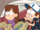 S1e2 dipper and mabel with hats.png
