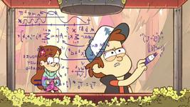 S1e9 dipper doing math