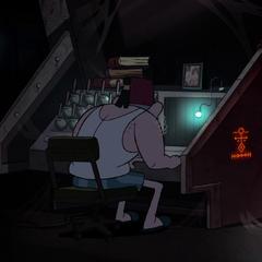 Символ в эпизоде «Гидеон восстаёт».