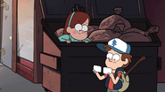 S1e3 fake ids are a good idea, fake ids made by mabel, idk