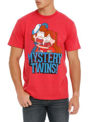 Hottopic mystery twins guys tee