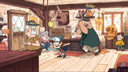 S1E14 Soos attacks Dipper with a broom