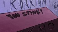 S1e5 you stink
