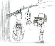 Dipper y Mabel - Brigette Barrager