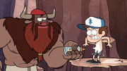 S1e6 giving dipper chest hair