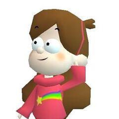 Мэйбл, как она появляется в Disney Speedway