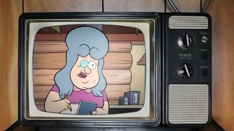 Eyes - Old Man McGucket's Conspiracy Corner - Gravity Falls