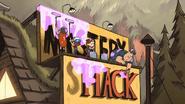 S1e13 making the shack sign glittery
