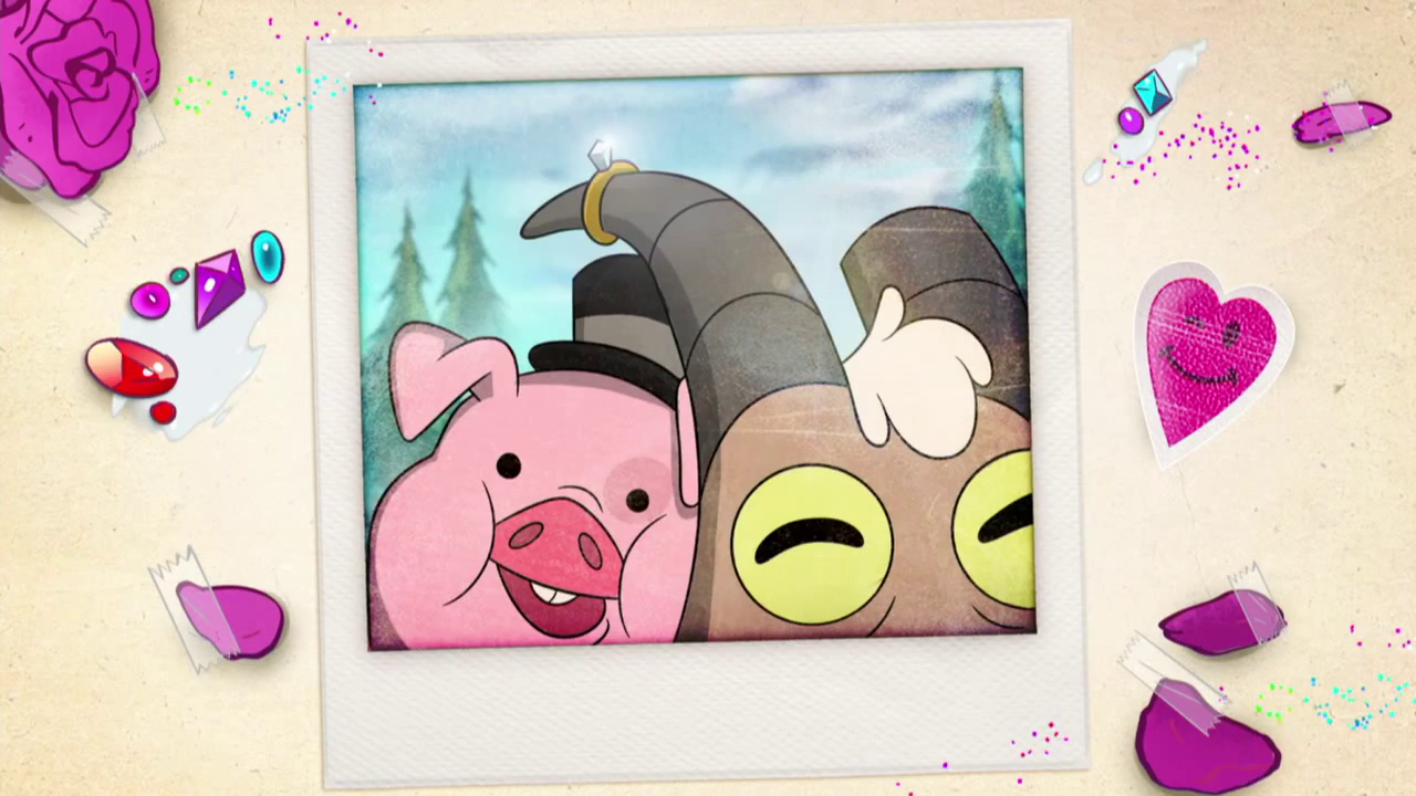 Goat And A Pig Gravity Falls Wiki Fandom Powered By Wikia
