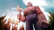 Opening lumberjack