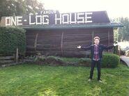 Mystery Tour 2013 One Log House