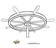 Tara Nicole Whitaker props mystery cart wheel