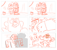 S2e5 storyboard art