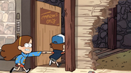 S1e13 mabel and dipper run