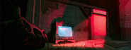 Gravity Falls Season 2 Mystery Shack living room in some mysterious glow