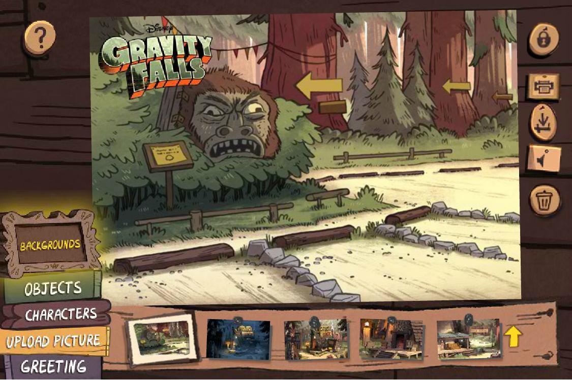 Postcard Creatorgallery Gravity Falls Wiki Fandom Powered By Wikia