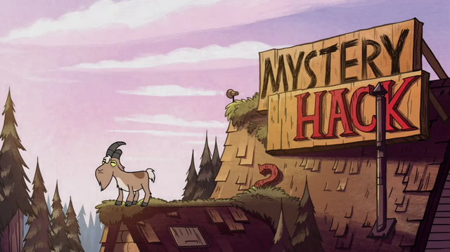 File:S1e5 goat on mystery shack roof.png