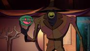 S1e12 trickster holding jack o melon