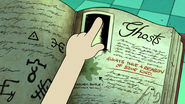 S1e5 ghost page in the journal 3