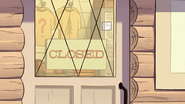 S1e18 closed sign