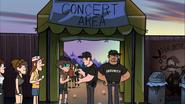 S2e9 concert entrance